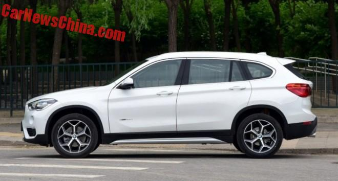 BMW X1 Li Long-Wheelbase Hits The Chinese Car Market