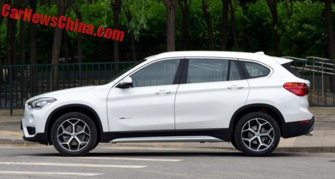BMW X1 Li Long-Wheelbase Hits The Chinese Car Market
