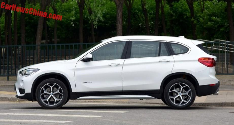 BMW X1 Li Long Wheelbase Hits The Chinese Car Market