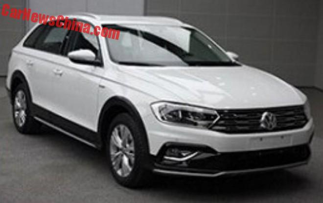 Spy Shots: The New Volkswagen Bora C-TREK Crossover For China
