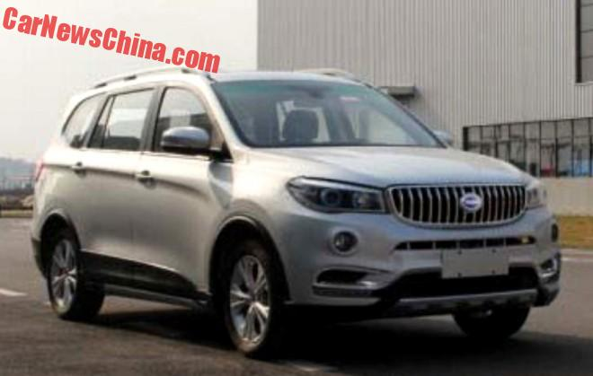Spy Shots: Brilliance Shineray SWM X5 Is A New MPV For China