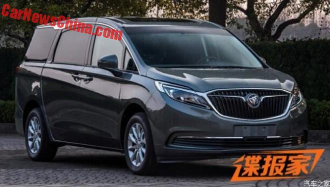 Leaked: This Is The New Buick GL8 For China