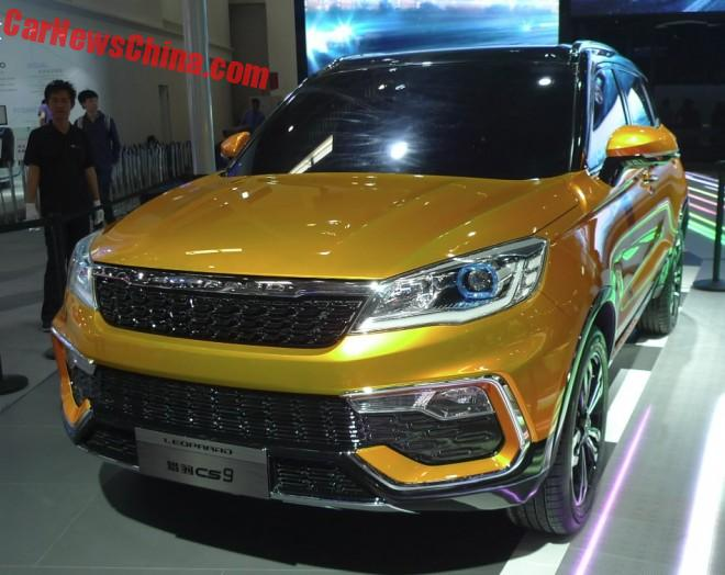 Changfeng Liebao CS9 SUV Concept Debuts On The Beijing Auto Show