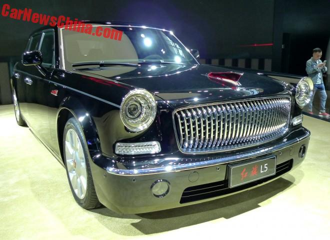 Meet The Hongqi L5, China's Most Expensive Car