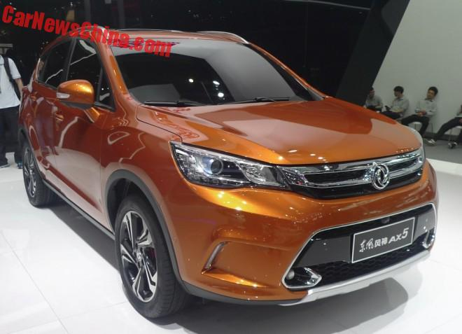 Dongfeng Fengshen AX5 Hits The Beijing Auto Show
