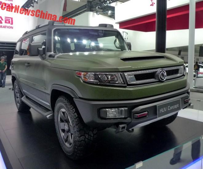 Dongfeng Fengshen HUV Concept Debuts On The Beijing Auto Show
