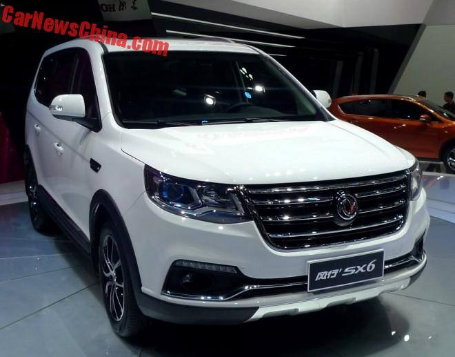Dongfeng Fengxing SX6 Will Launch In China in July