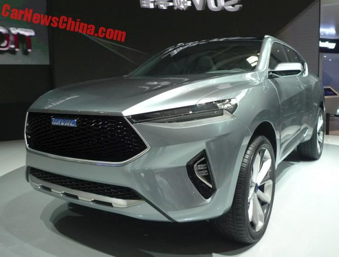 Haval HB-02 And HR-02 SUV Concepts Launched On The Beijing Auto Show