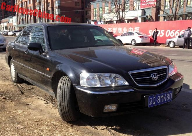 Spotted In China: Third Generation Honda Legend