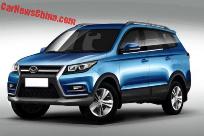 Leaked: Beijing Auto Huansu S3 SUV For China