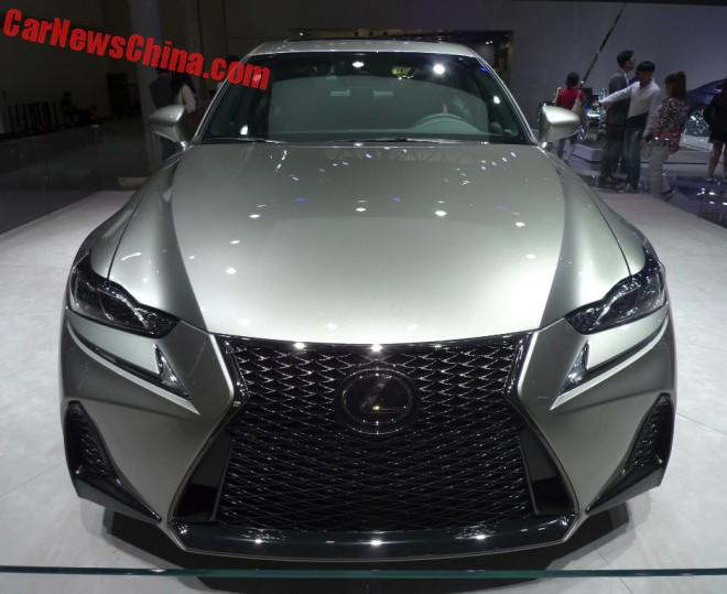 Facelifted Lexus IS Launched On The Beijing Auto Show
