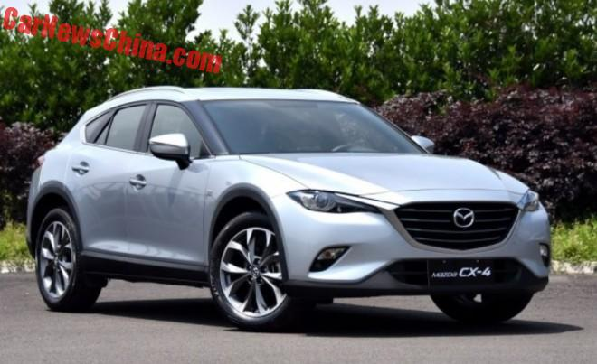 This Is The New Mazda CX-4 For China