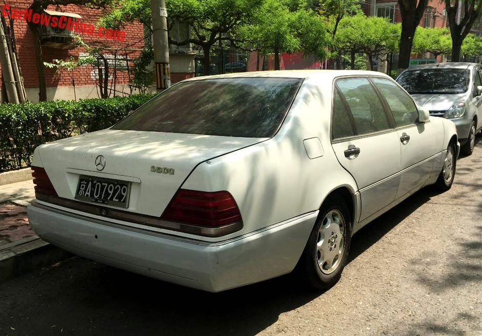 Spotted in china w140 mercedes benz s500 in white - Black owned interior design companies ...