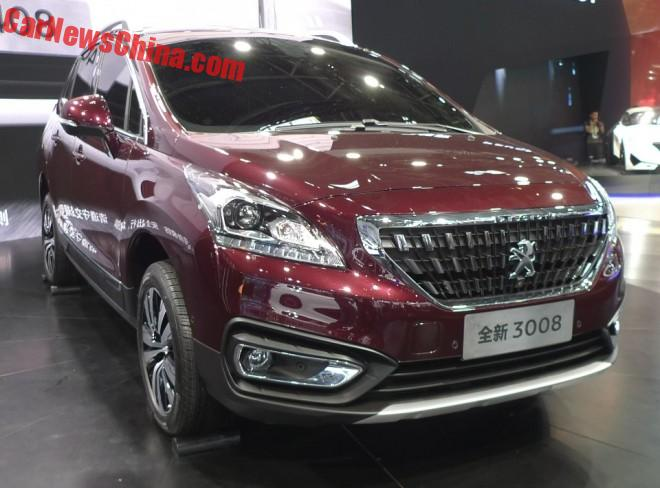 New Peugeot 3008 hits the Beijing Auto Show