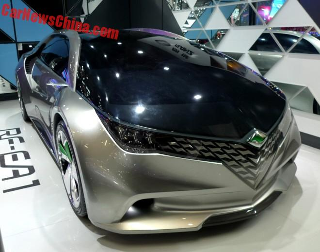 FAW-Toyota Ranz RF-EA1 Concept Debuts On The Beijing Auto Show