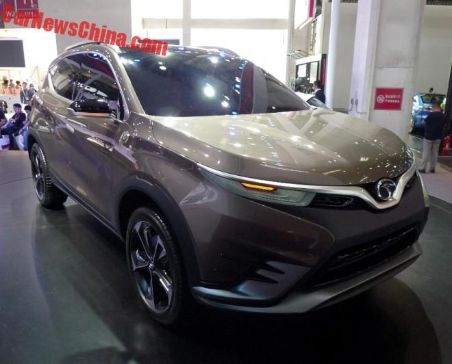 SouEast DX Concept Unveiled On The 2016 Beijing Auto Show