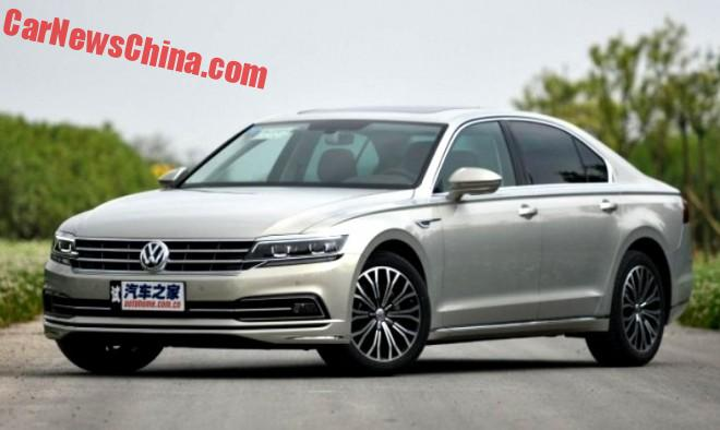 Volkswagen Phideon Is Ready For The Chinese Car Market