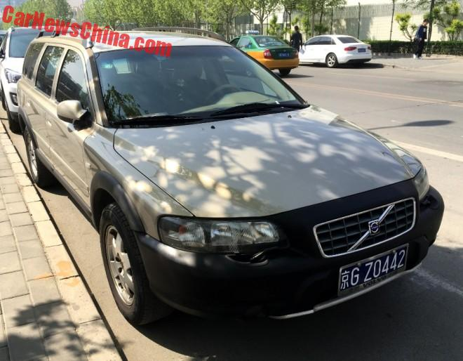 Spotted In China: Volvo V70 XC Cross Country