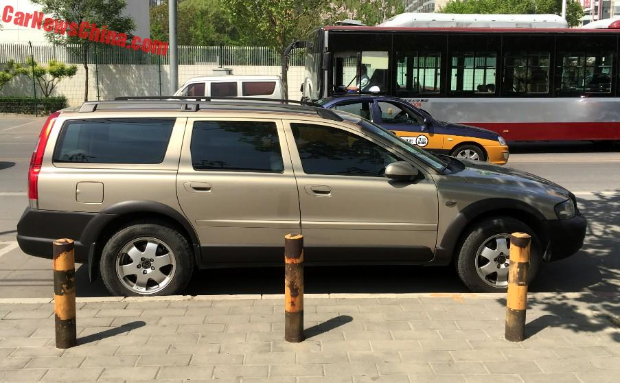 spotted in china volvo v70 xc cross country. Black Bedroom Furniture Sets. Home Design Ideas