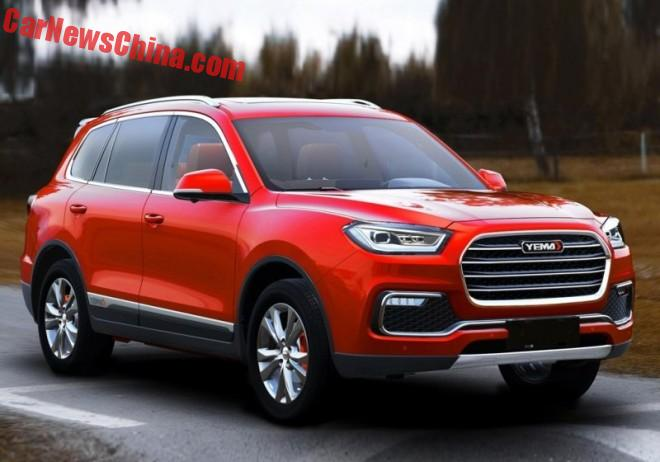 This Is The New Yema Auto T80 SUV For China