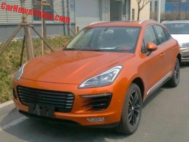 Zotye SR8 Porsche Macan Clone Will Debut In China On May 20
