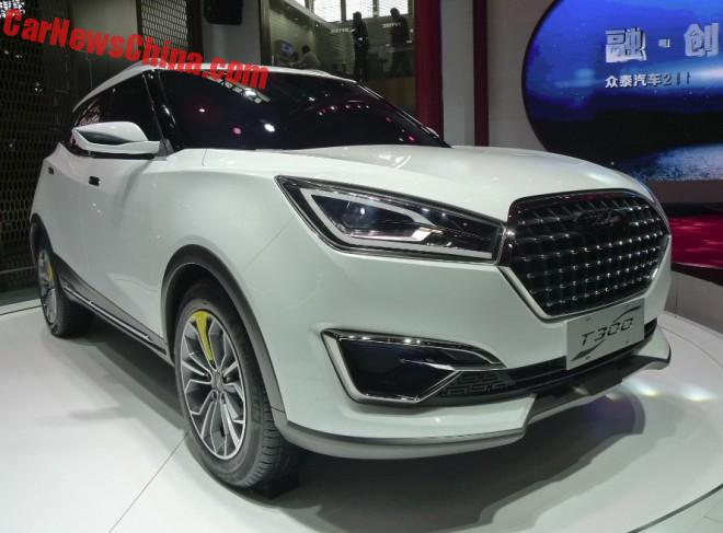 Zotye T300 SUV Concept Unveiled On The Beijing Auto Show