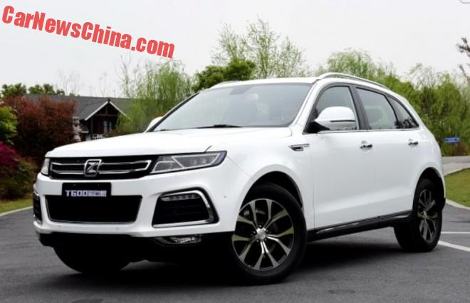 Zotye T600 Sport SUV Launched On The Chinese Car Market
