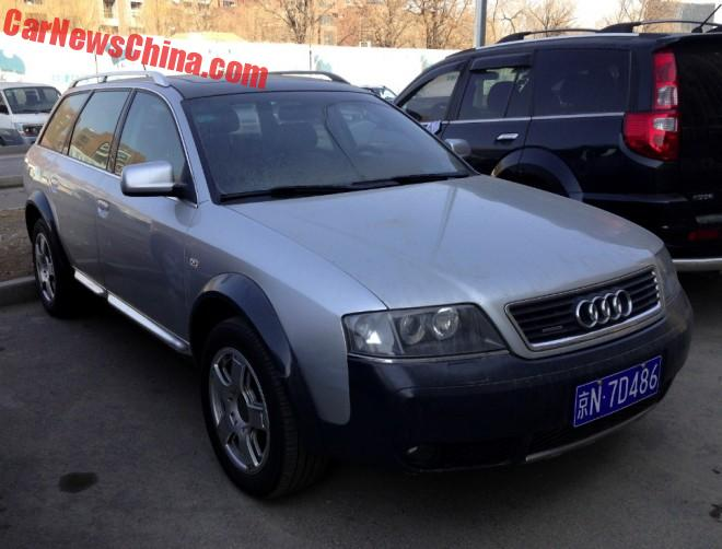 Spotted In China: C5 Audi A6 Allroad Quattro | Main Info on land rover china, mercedes c class china, audi a3 china, jeep cherokee china,