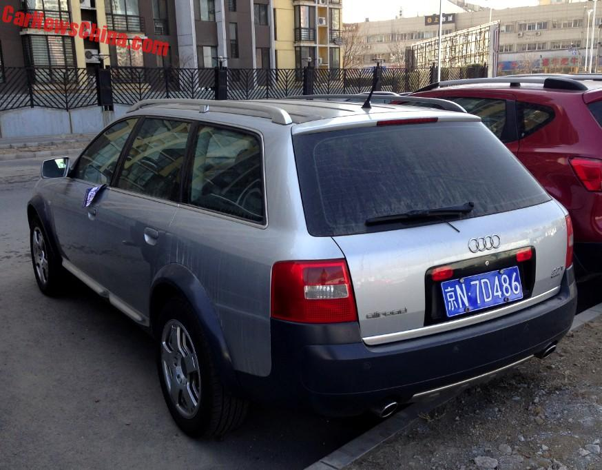 Spotted In China: C5 Audi A6 Allroad Quattro - CarNewsChina.com on land rover china, mercedes c class china, audi a3 china, jeep cherokee china,