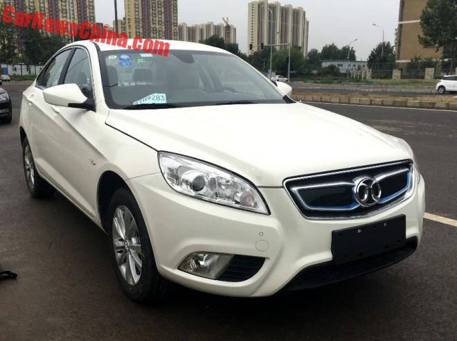 Eye To Eye With The Beijing Auto EU260 In China