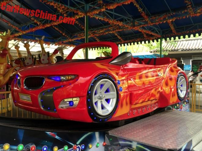 BMW i8 Is Red And In Need For Speed In China