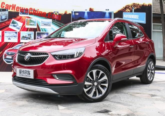 Facelifted Buick Encore Launched On The Chinese Car Market