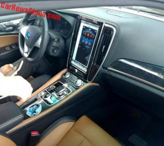 Facelifted BYD Qin Will Get A Tesla Style Touch Screen