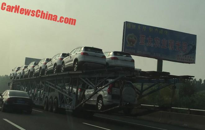 Mega Gallery: Car Transport Trucks In China