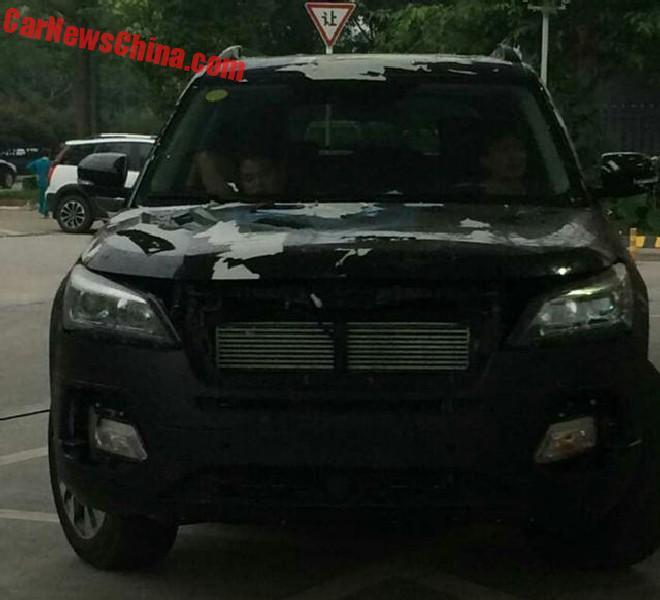 Spy Shots: Changan CS95 SUV Testing In China