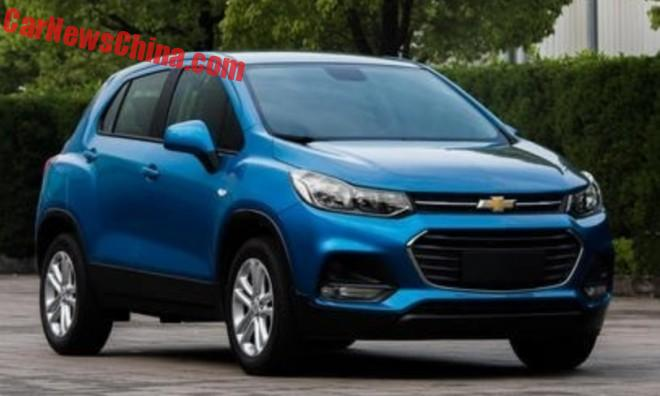 Facelift For The Chevrolet Trax In China