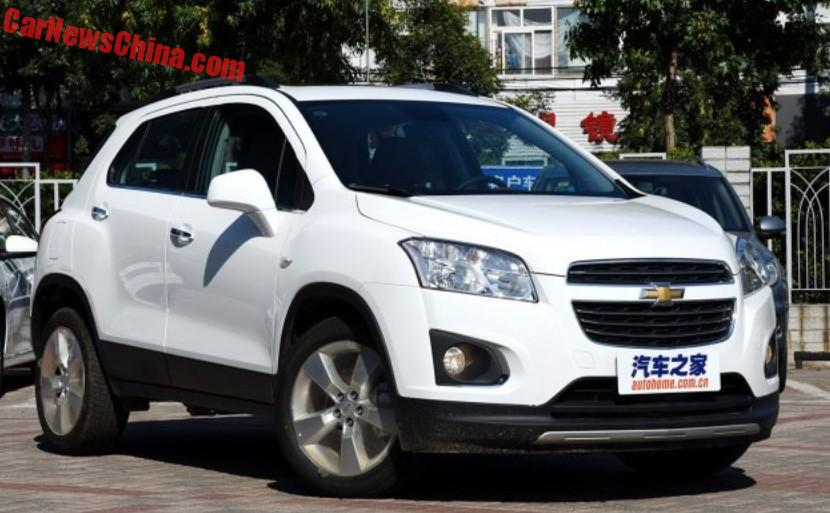 Facelift For The Chevrolet Trax In China Carnewschina