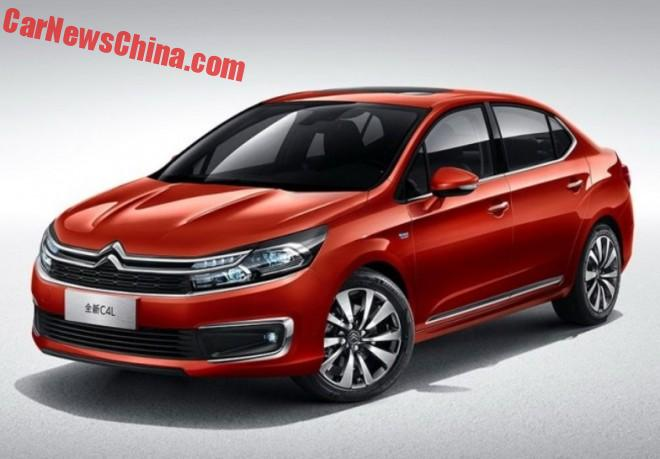 Facelift For The Citroen C4L In China