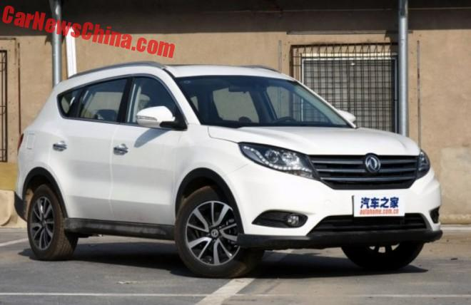 Dongfeng Fengguang 580 SUV Launched On The Chinese Car Market