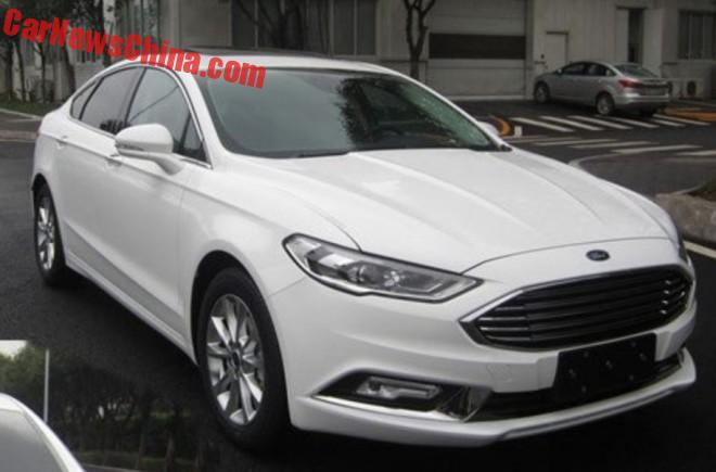 Spy Shots: Facelift For The Ford Mondeo In China
