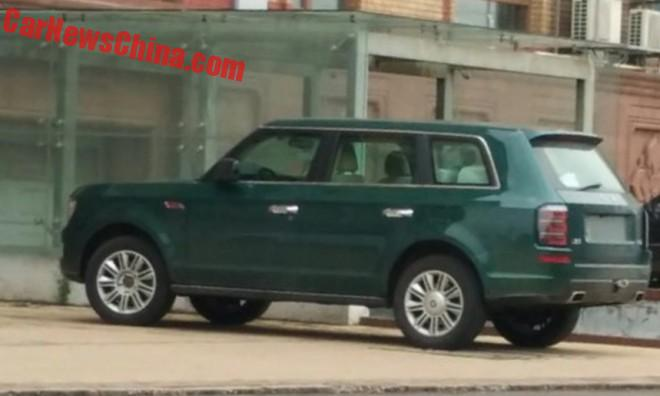 Spy Shots: The Hongqi LS5 SUV In Green