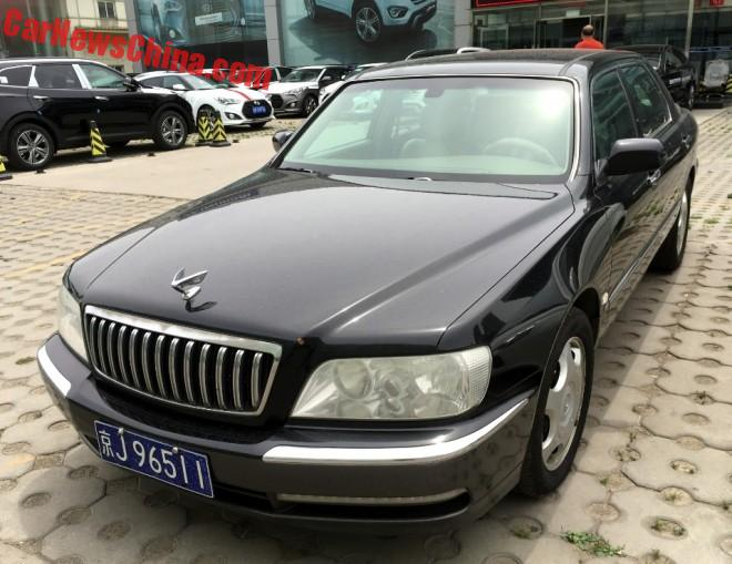Spotted In China: A Perfect Hyundai Equus JS 350