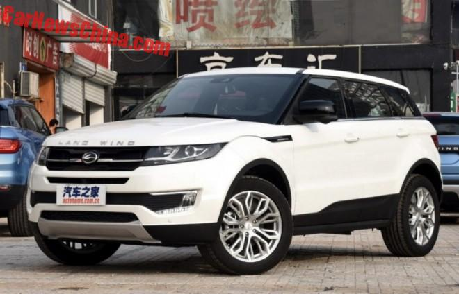 Jaguar Land Rover Sues China's Jiangling Auto Over Landwind X7