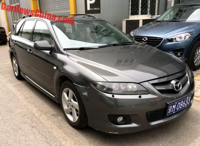 Spotted In China: First Generation FAW-Mazda 6 Wagon