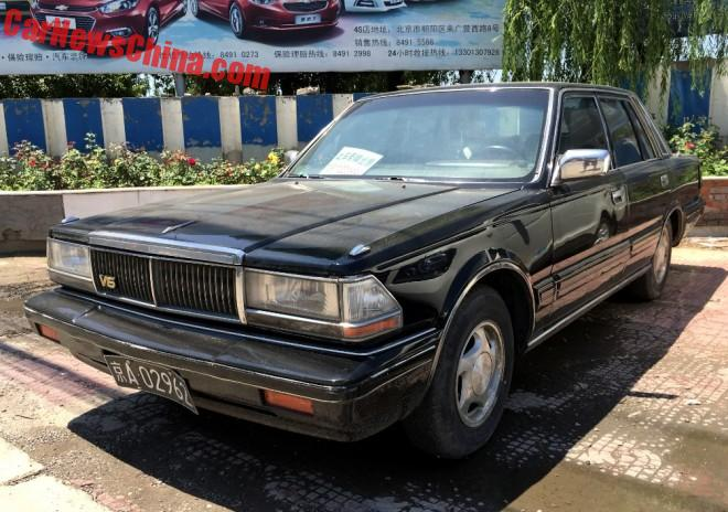 Spotted in China: Sixth Generation Nissan Cedric V-30 SGL