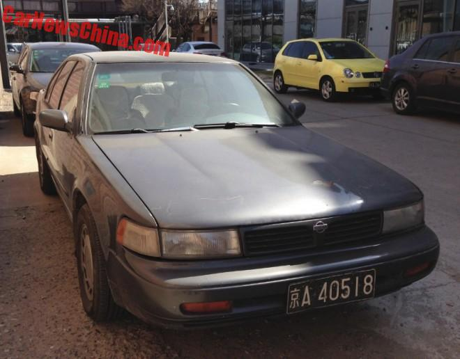 Spotted In China: Third Generation Nissan Maxima
