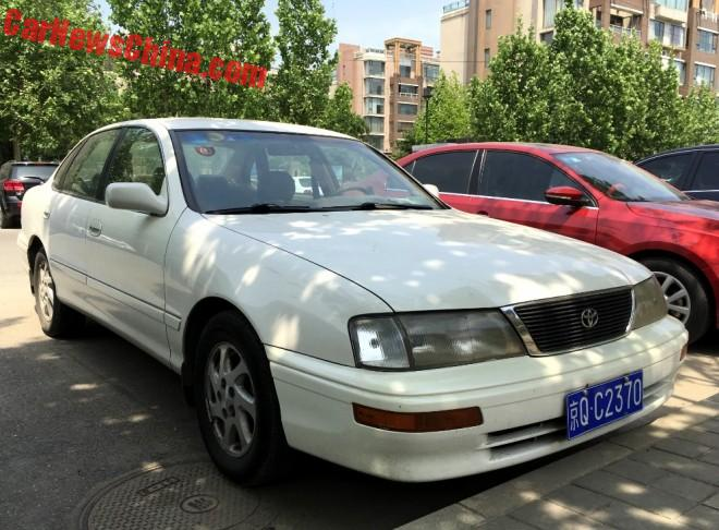Spotted In China: first generation Toyota Avalon XL