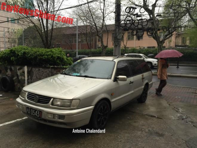 Spotted In China: Volkswagen Passat B4 GL Wagon