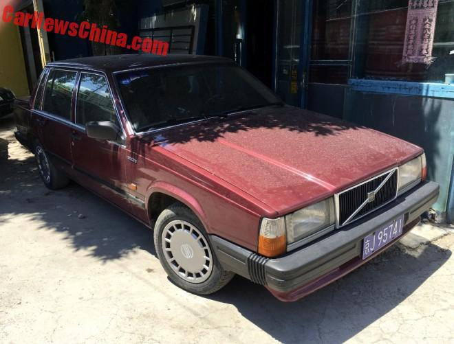 Spotted In China: Volvo 740 GL Sedan
