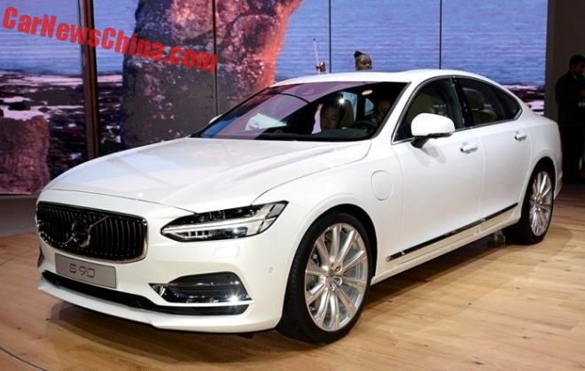 Volvo S90 Will Be Launched In China In July